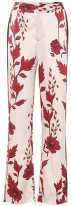 Johanna Ortiz Pissarro silk wide-leg trousers