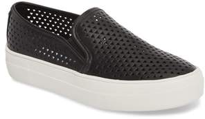 Steve Madden Gal-P Perforated Slip-On Sneaker