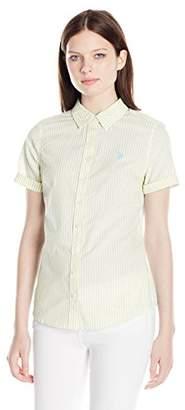 U.S. Polo Assn. Junior's Short Sleeve Woven Shirt