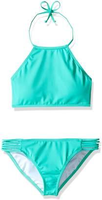 Billabong Little Girls' Sol Searcher Hi Neck Bikini Set