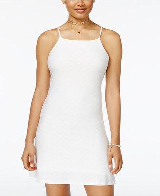 Planet Gold Square-Neck Slip Dress $39 thestylecure.com