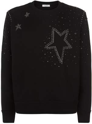 Valentino Embellished Star Sweater