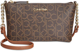 Calvin Klein Hayden Signature Chain Strap Crossbody