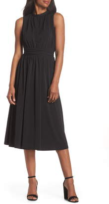 891853d236 Shirred Midi Dress - ShopStyle