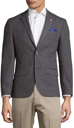 Ben Sherman Men's Houndstooth Jacket
