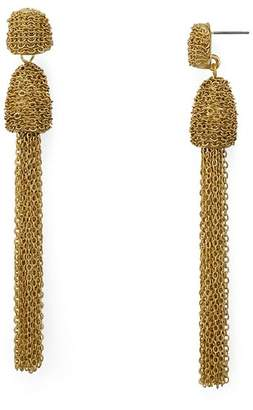 Aqua Tassel Drop Earrings - 100% Exclusive