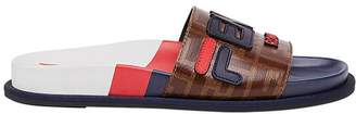 Fendi FendiMania motif sliders
