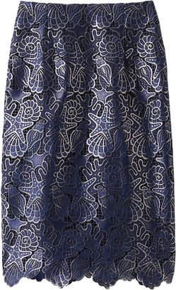 Allureville (アルアバイル) - アルアバイル シェルレースタイトスカート