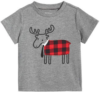 First Impressions Toddler Boys Elk Graphic T-Shirt
