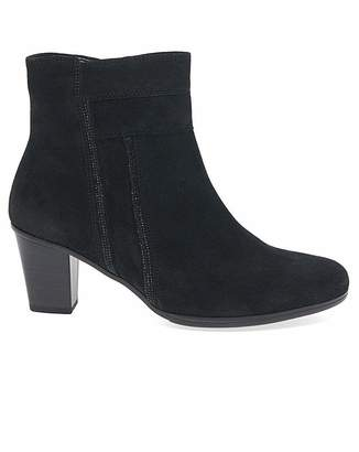 Gabor Shirley Womens Suede Ankle Boots