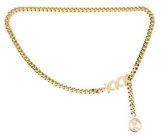 Paloma Picasso Chain-Link Waist Belt