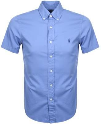 Ralph Lauren Short Sleeved Shirt Blue