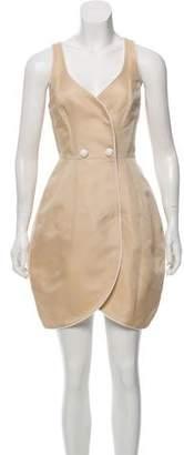 Thread Social Silk-Blend Wrap Dress