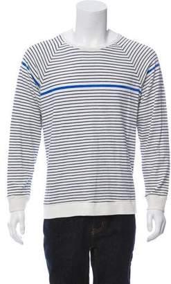 Rag & Bone Scoop Neck Striped T-Shirt