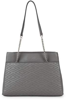 Karl Lagerfeld Paris Quilted Leather Chain Tote