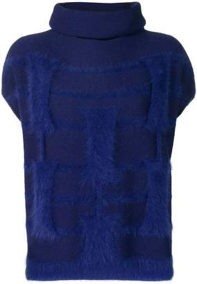 Cruciani roll neck sweater