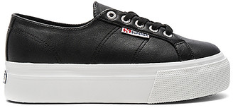 Superga 2790 Fglw Sneaker in Black $109 thestylecure.com