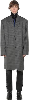 Martine Rose Oversized Single Breast Wool Coat