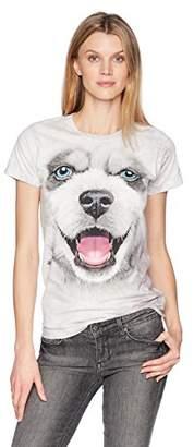 The Mountain Women's Big Face Siberian Husky Puppy