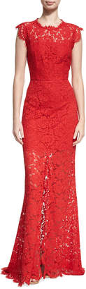 Rachel Zoe Estelle Cutout Maxi Dress, Red