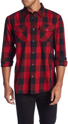 True Religion Western Plaid Shirt