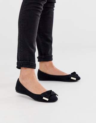 Ted Baker Antheia bow detail ballet flats