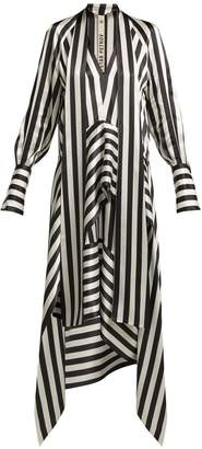 Petar Petrov Duscha striped silk dress