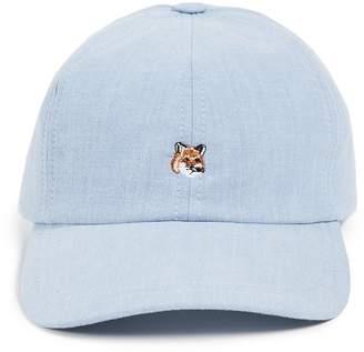 MAISON KITSUNÉ Cap 6P Small Fox Head Baseball Cap