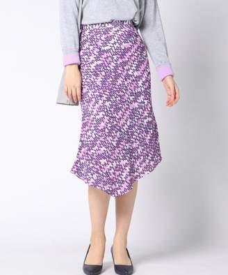 Vicky (ビッキー) - ビッキー 幾何柄プリントアシメマーメイドスカート