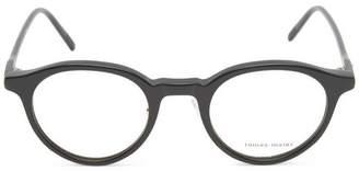 Tomas Maier Matte Round Acetate Glasses