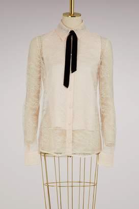 Lanvin Lace blouse