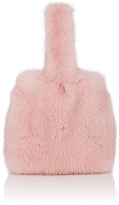 Barneys New York Women's Mink Fur Wristlet Bucket Bag