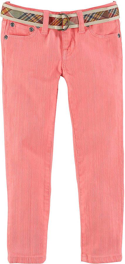Ralph Lauren Girls 2-6x Skinny Jeans