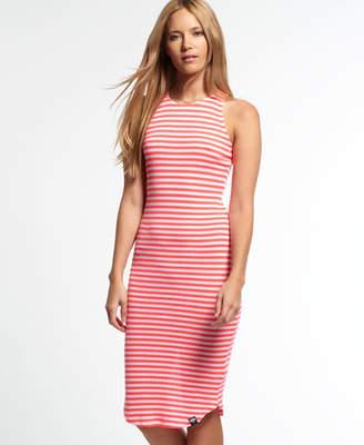 Superdry Sheer Rib Racer Dress