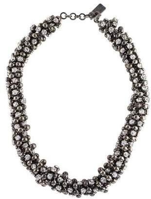 Blumarine Crystal Collar Necklace