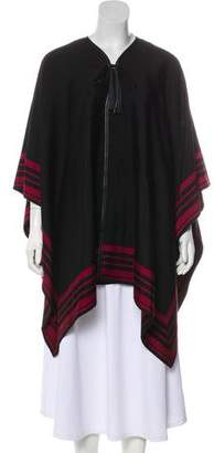 Louis Vuitton Striped Open Front Cape