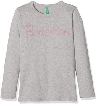 Benetton Girl's Long Sleeve T-Shirt,(Manufacturer Size: X-Small)