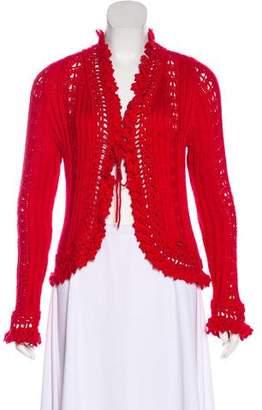 Chanel Crochet Long Sleeve Cardigan