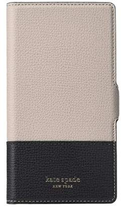 Kate Spade Sylvia Magnetic Folio Phone Case for iPhone XS