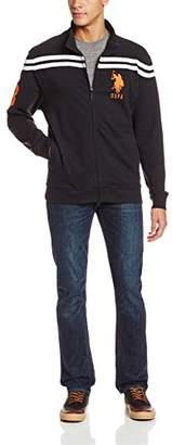 U.S. Polo Assn. Men's Full-Zip Chest-Stripe Track Jacket