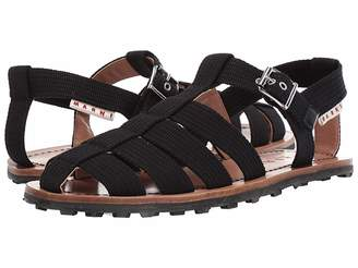 2a702433a88a Mens Black Fisherman Sandals