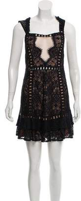 For Love & Lemons Lace Mini Dress w/ Tags