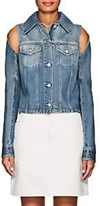 MM6 MAISON MARGIELA Women's Floating-Sleeve Denim Jacket - Blue