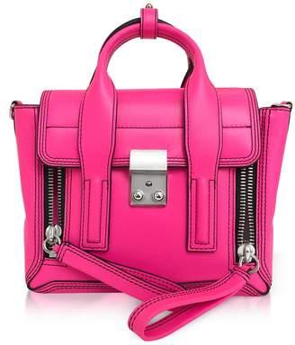 3.1 Phillip Lim Neon Pink Leather Pashli Mini Satchel