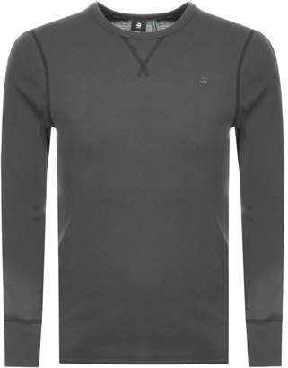 G Star Raw Long Sleeve Korpaz T Shirt Grey