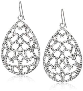 ABS by Allen Schwartz Openwork Tear Drop Earrings