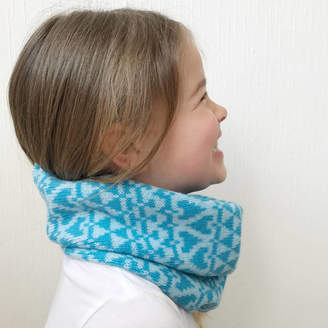 Little Knitted Stars Childrens Knitted Lambswool Snood