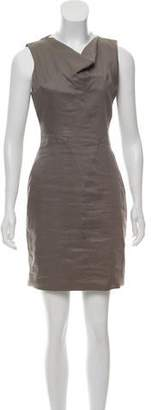 Helmut Lang Linen Sheath Dress