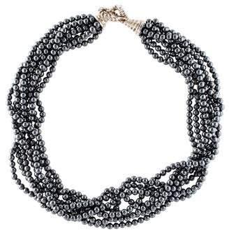 Tiffany & Co. Hematite Torsade Necklace