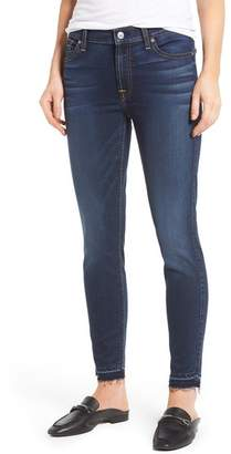 7 For All Mankind b(air) Released Hem Ankle Skinny Jeans (b(air)Night Shadow)